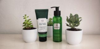 Exfoliants au Tea Tree The Body Shop