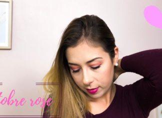 Maquillage spécial Octobre Rose